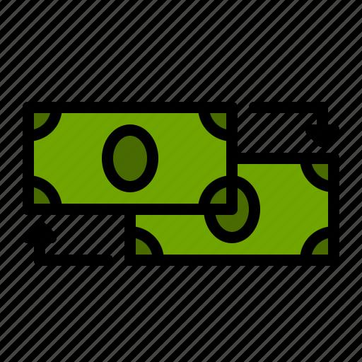 Bill, currency, dollar, exchange, finance, money icon - Download on Iconfinder