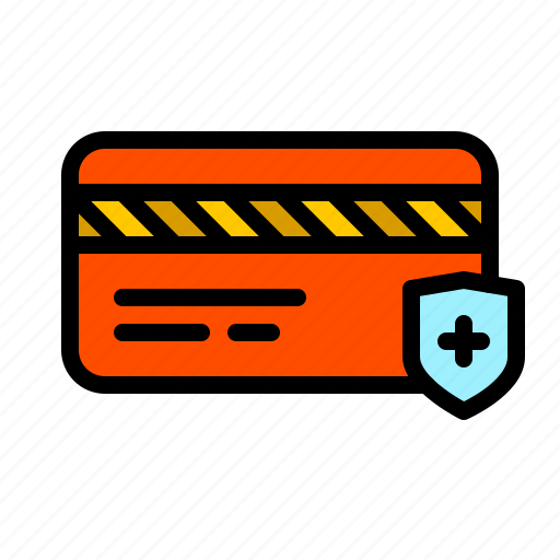 card, credit, finance, payment, safe, secure, security icon