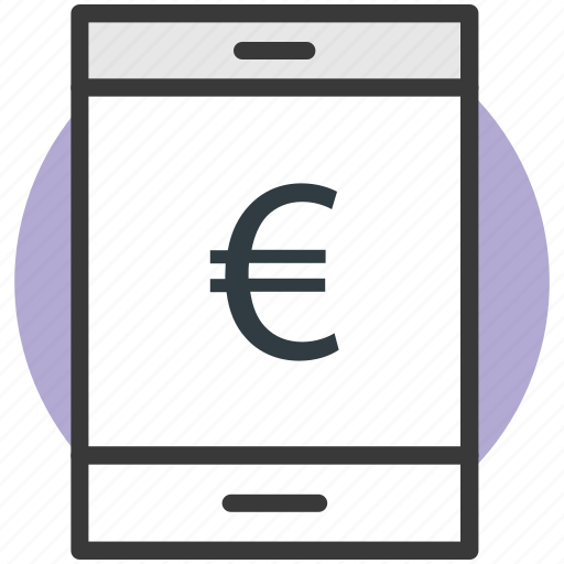 currency, euro app, europe, finance, foreign icon