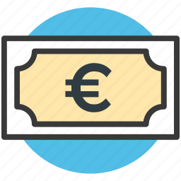 cash, currency, euro currency, euro symbol, money icon