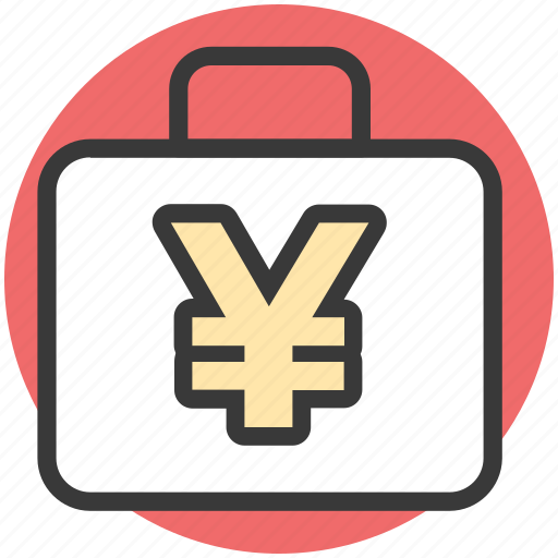 banknote, cash bag, finance, money, yen bag icon