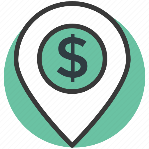 bank location, bank location pin, location marker, map locator, map pointer icon