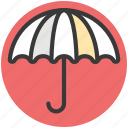 canopy, parasol, rain protection, sunshade, umbrella icon
