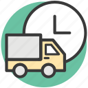 delivery car, delivery van, hatchback, van, vehicle icon