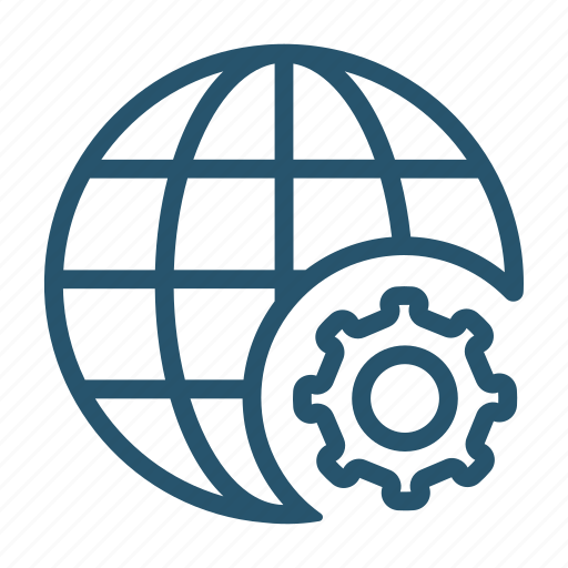 ceo, connection, globe, internet icon