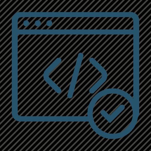 ceo, coding, html, markup, tag icon icon
