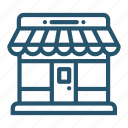 market, marketplace, shop, store icon icon