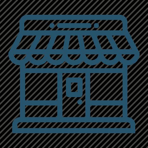 market, marketplace, shop, store icon icon