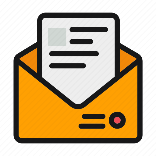 chat, letter, message, messenger, text icon icon
