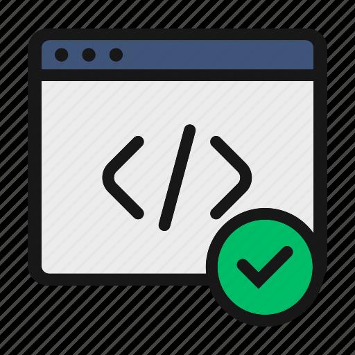 app, code, coding, html, tag icon icon