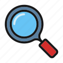 ceo, find, magnifier, search, zoom icon icon