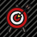 ceo, dart, focus, sport, target icon