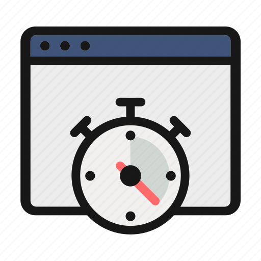 clock, stop watch, timer, watch icon icon