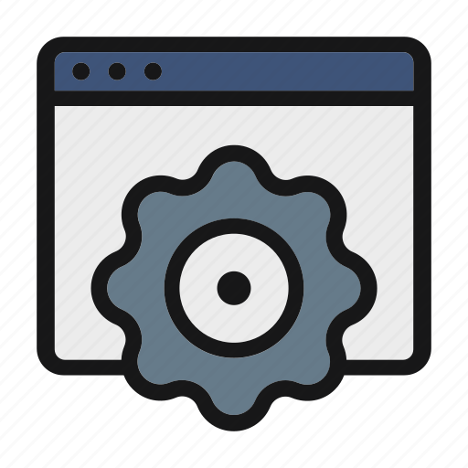 ceo, engineering, gear, process, setting icon icon