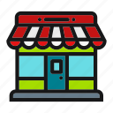 market, marketplace, shop, store icon