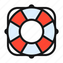 ceo, lifebelt, lifebuoy, lifesaver, support icon icon