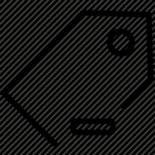 mark, minus, price, remove, tag icon