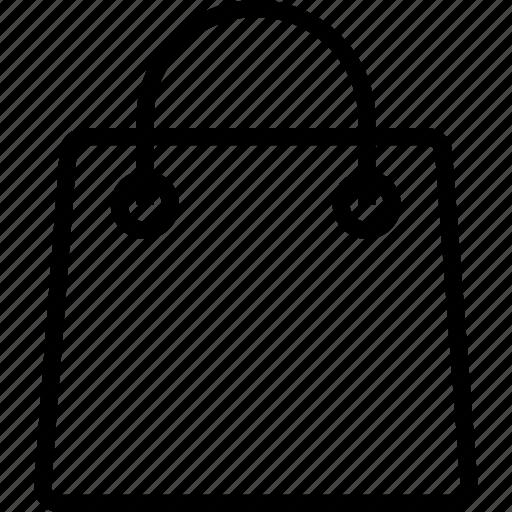 bag, plain, shoping icon
