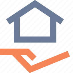 assistance, banking, help, housing, insurance, loan, support icon