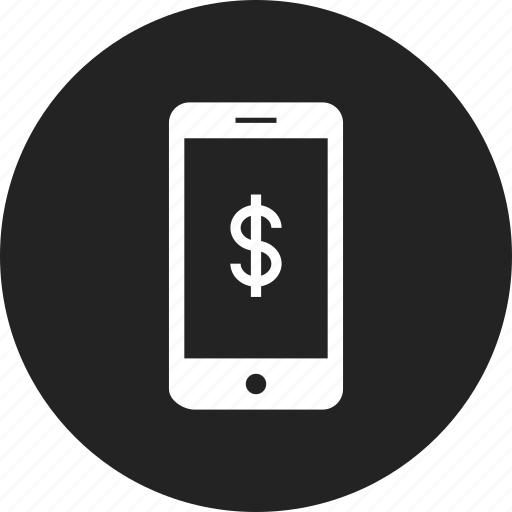 bank, mobile, online icon