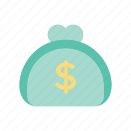 finance, money, pouch, wallet icon