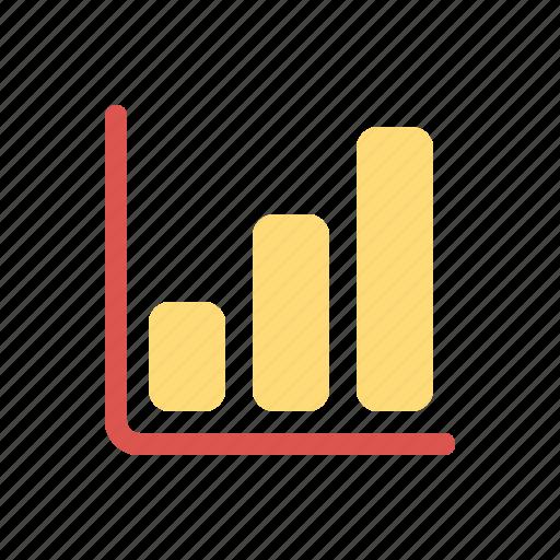 chart, finance icon