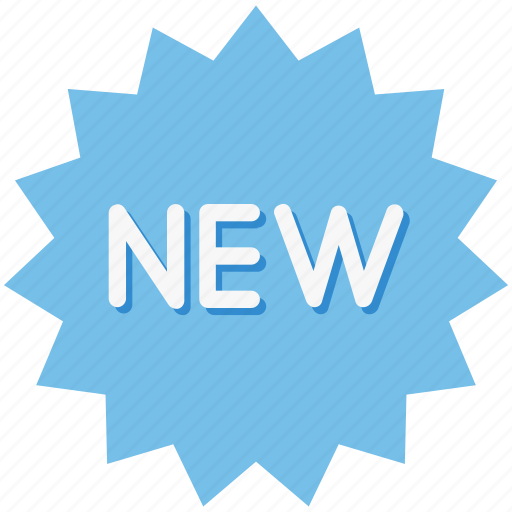 badge, new, new badge, offer, shopping, sticker icon