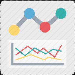 business graph, graph, line, line graph, statistics icon