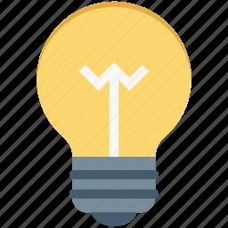 bulb, bulb light, electricity, idea, light icon