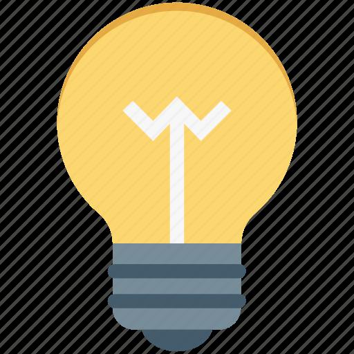 Electricity, bulb, bulb light, idea, light icon
