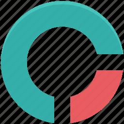 circular chart, diagram, infographic, pie chart, pie graph, statistics icon