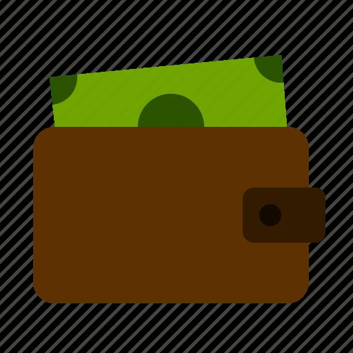 bill, dollar, finance, money, wallet icon