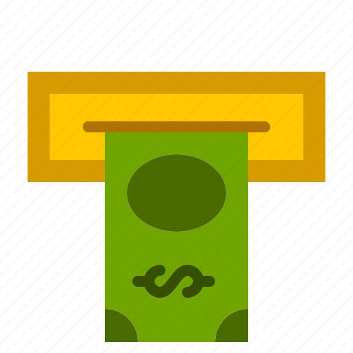 atm, bank, bill, cashout, dollar, finance, money icon