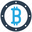 bitcoin, coin, crypto, cryptocurrency icon