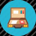 2, briefcase icon