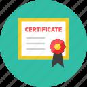 2, certificate icon