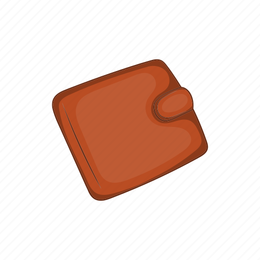 cartoon, credit, finance, money, purse, shopping, wallet icon