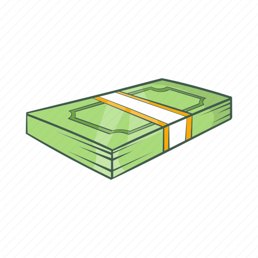 business, cartoon, dollar, finance, investment, loan, money icon