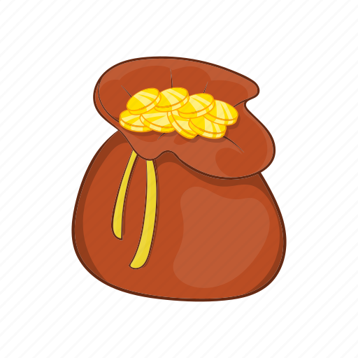 bag, cartoon, currency, dollar, finance, money, sack icon