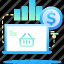 buy, chart, e-commerce, money icon