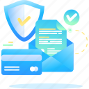 data, payment, safety, secure icon