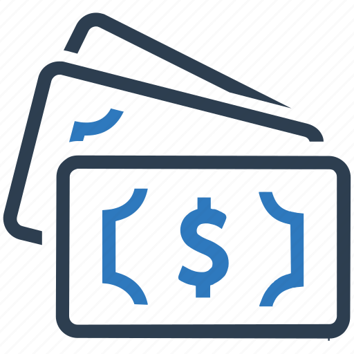 cash, dollars, money, savings icon
