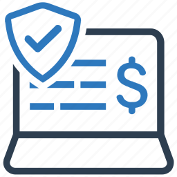 data, financial, financial protection, lock, security, shield icon