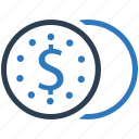 coins, money, payment, savings, stack icon