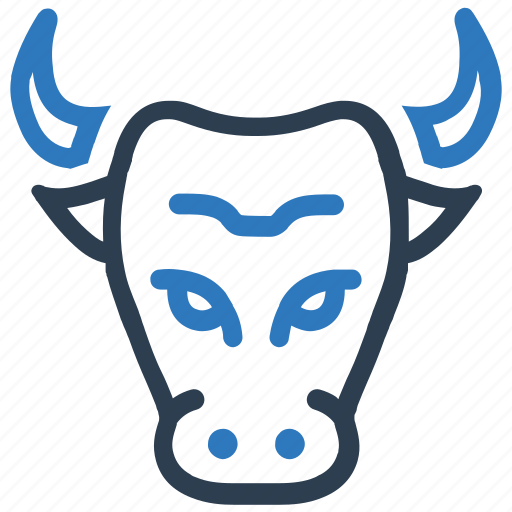 banking, bull, bull market, finance, stock market icon