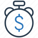 budget, deposit, money, return on investments icon