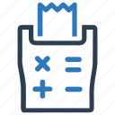 calculation, personal finance, tax calculator, tax machine, taxes icon