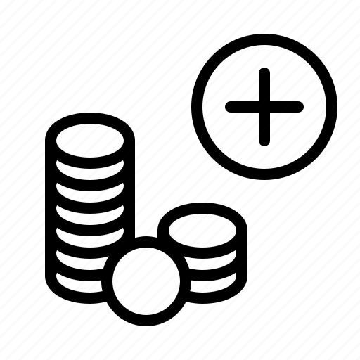 cash, coin, credit, creditor, finance, income, money icon