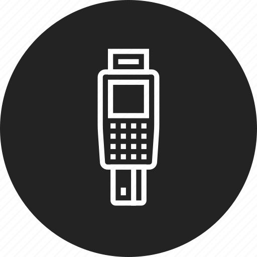 card, credit, payment, terminal icon