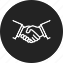 deal, handshake, partnership icon
